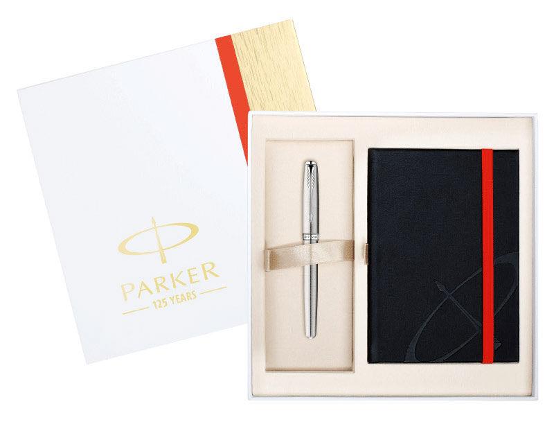Набор Parker Sonnet (1889088) ручка перьевая, блокнот