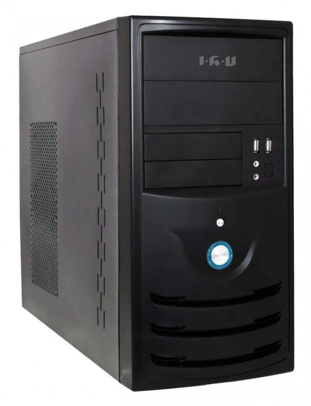 Компьютер  IRU Corp 319,  Intel  Celeron  G1610,  DDR3 2Гб, 250Гб,  Intel HD Graphics,  noOS,  черный