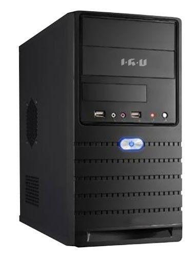Компьютер  IRU Corp 319,  Intel  Core i3  3210,  DDR3 2Гб, 500Гб,  Intel HD Graphics 2500,  noOS,  черный