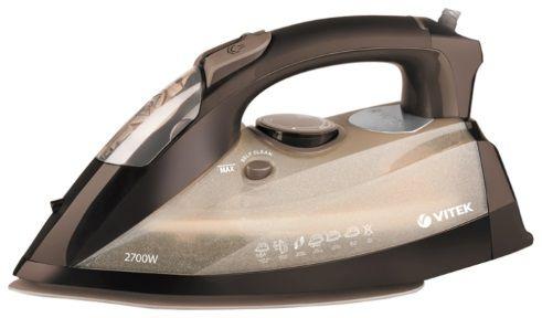 Утюг VITEK VT-1229 CL,  2700Вт,  коричневый [1229-vt-01-cl]
