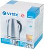 Чайник электрический VITEK VT-1170 SR, 2200Вт, серебристый вид 12