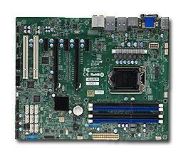 Серверная материнская плата SUPERMICRO MBD-X10SAE-O,  Ret