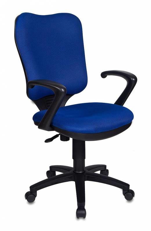 Кресло БЮРОКРАТ CH-540AXSN, на колесиках, ткань, синий [ch-540axsn/tw-10]