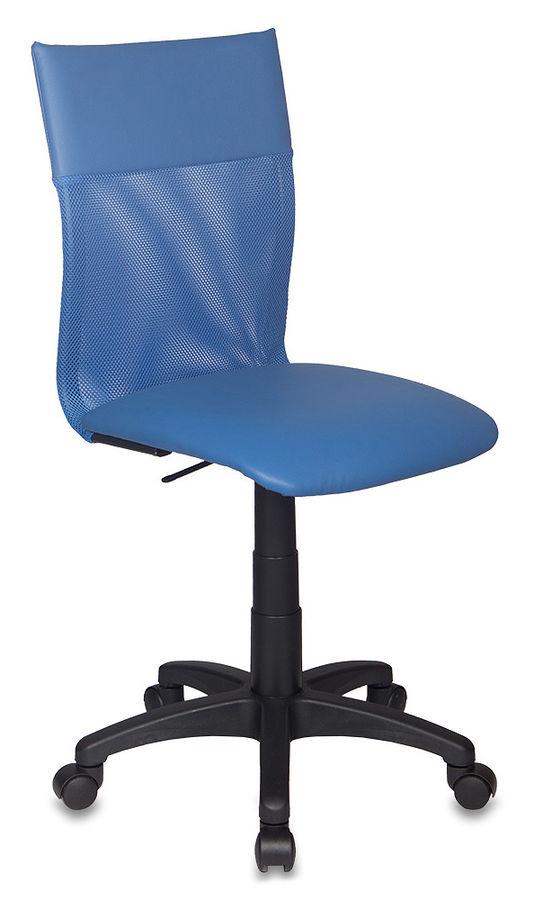 Кресло БЮРОКРАТ CH-399, на колесиках, искусственная кожа, синий [ch-399/bl/5178]