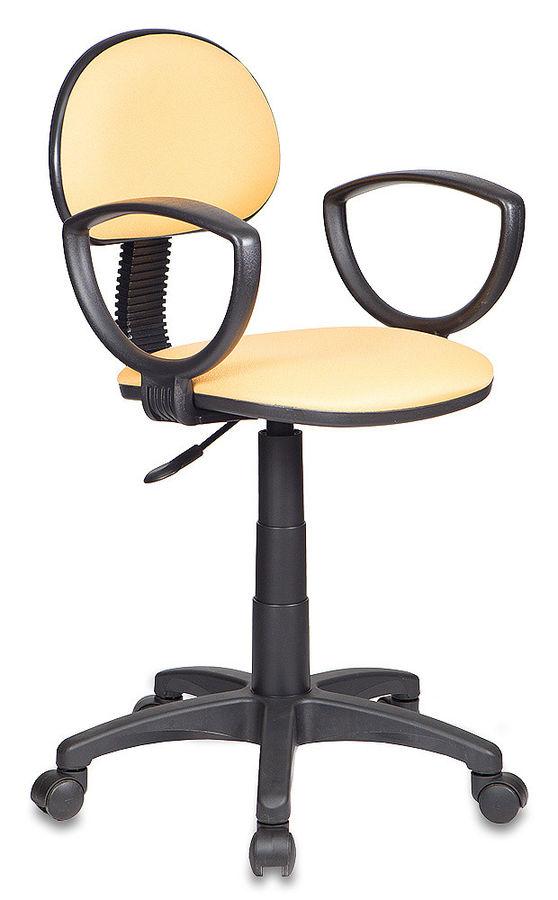 Кресло БЮРОКРАТ CH-213AXN, на колесиках, ткань, желтый [ch-213axn/15-155]