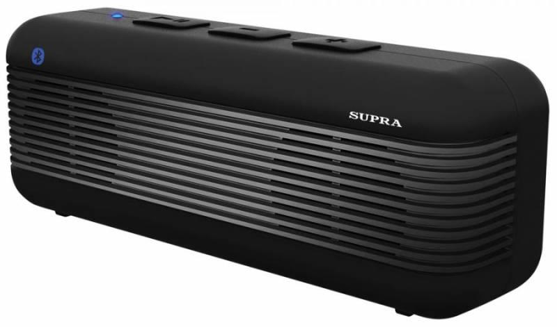 Аудиомагнитола SUPRA BTS-525,  темно-серый
