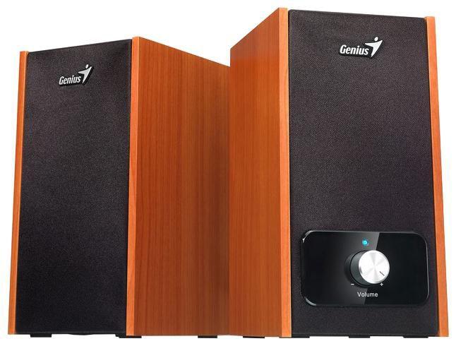 Колонки GENIUS SP-HF365B,  оранжевый,  вишня [31731034100]