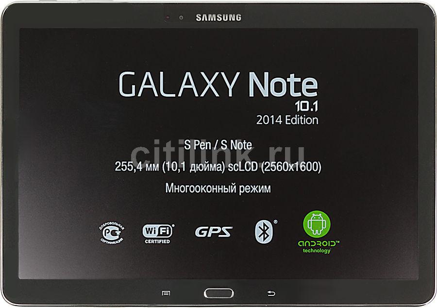 Планшет SAMSUNG Galaxy Note SM-P601,  3Гб, 32GB, 3G,  Android 4.3 черный [sm-p6010zkemgf]