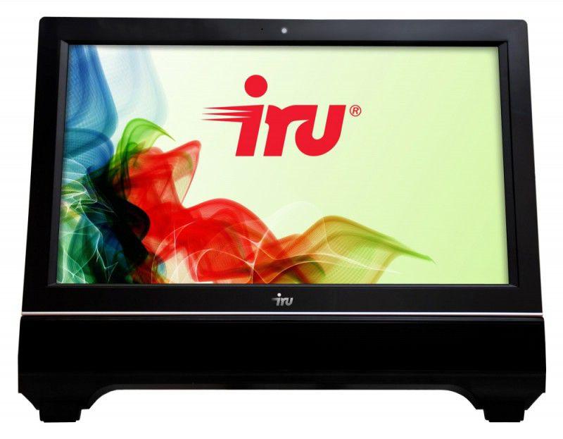 Моноблок IRU 310, Intel Celeron G1610, 2Гб, 250Гб, Intel HD Graphics, DVD-RW, noOS, черный