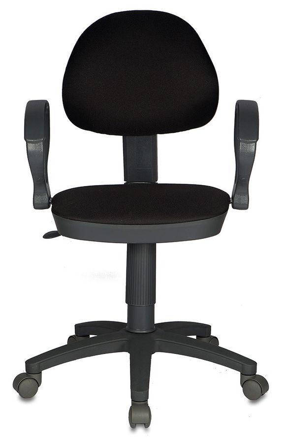 Кресло БЮРОКРАТ CH-G318AXN, на колесиках, ткань, черный [ch-g318axn/15-21]