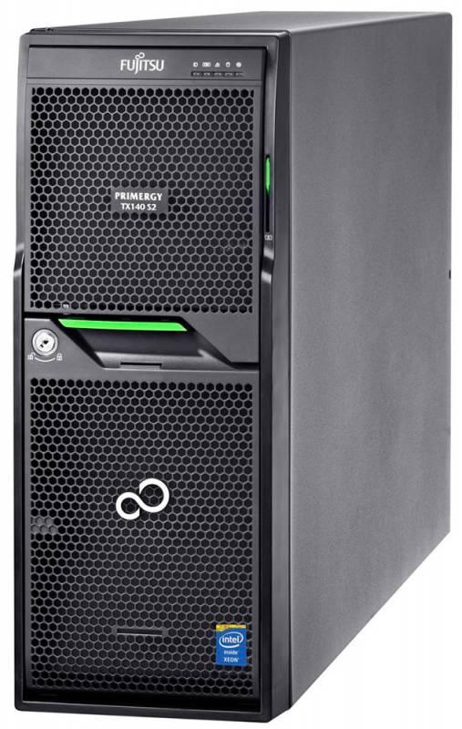 Сервер Fujitsu PR TX140 S2 E3-1220V3/8Gb 1.6/ x4 SATA 2x1Tb 7.2K 3.5
