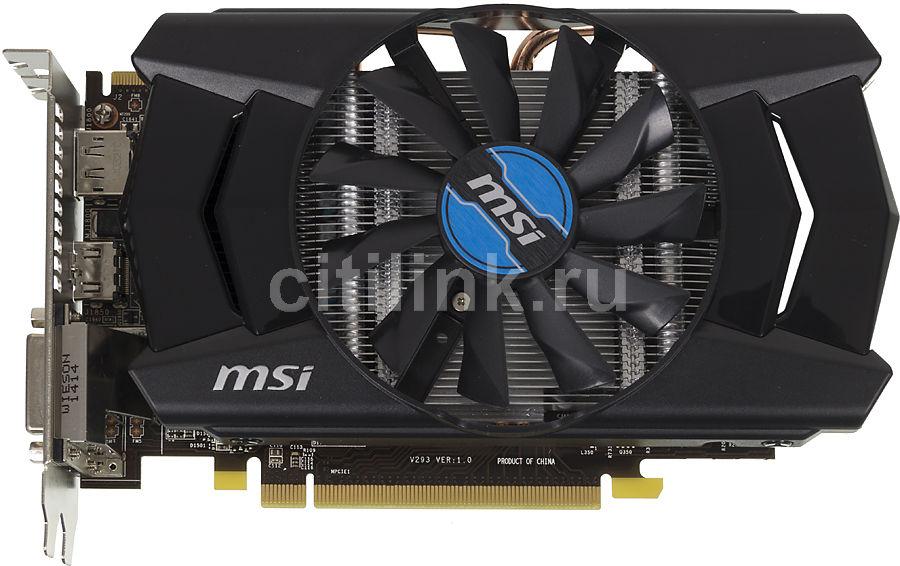 Видеокарта MSI Radeon R7 260X,  2Гб, GDDR5, Ret [r7 260x 2gd5 oc]