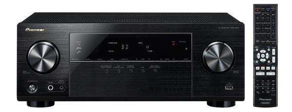 AV-ресивер PIONEER VSX-423-K,  черный