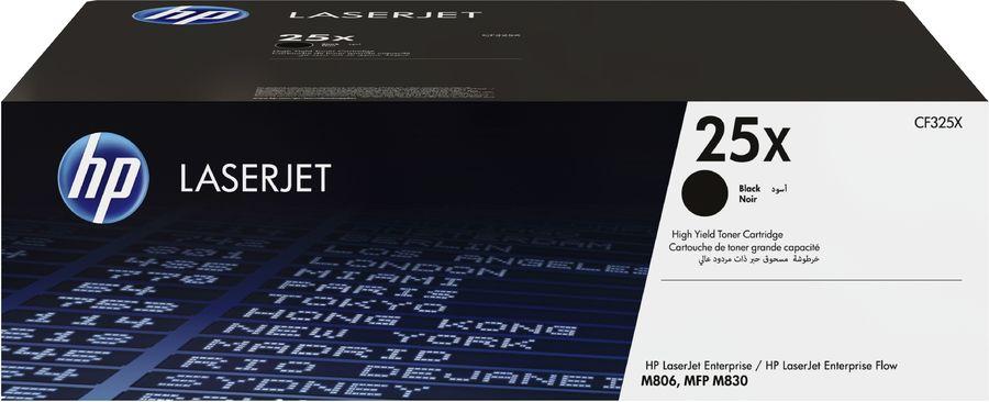 Картридж HP CF325X черный
