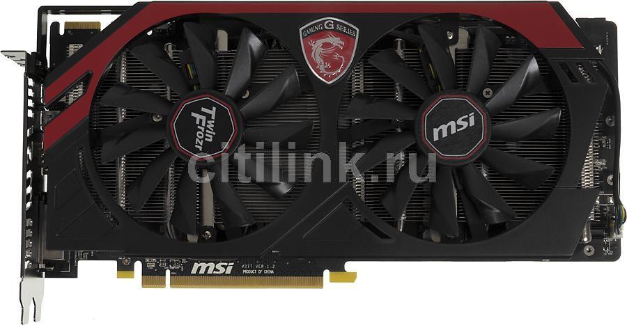 Видеокарта MSI Radeon R9 280X,  R9 280X GAMING 3G,  3Гб, GDDR5, OC,  Ret