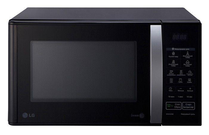 Микроволновая печь LG MH6342BB, черный