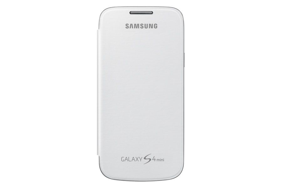 Чехол (флип-кейс) SAMSUNG EF-FI919BZEGWW, для Samsung Galaxy S4 mini, желтый