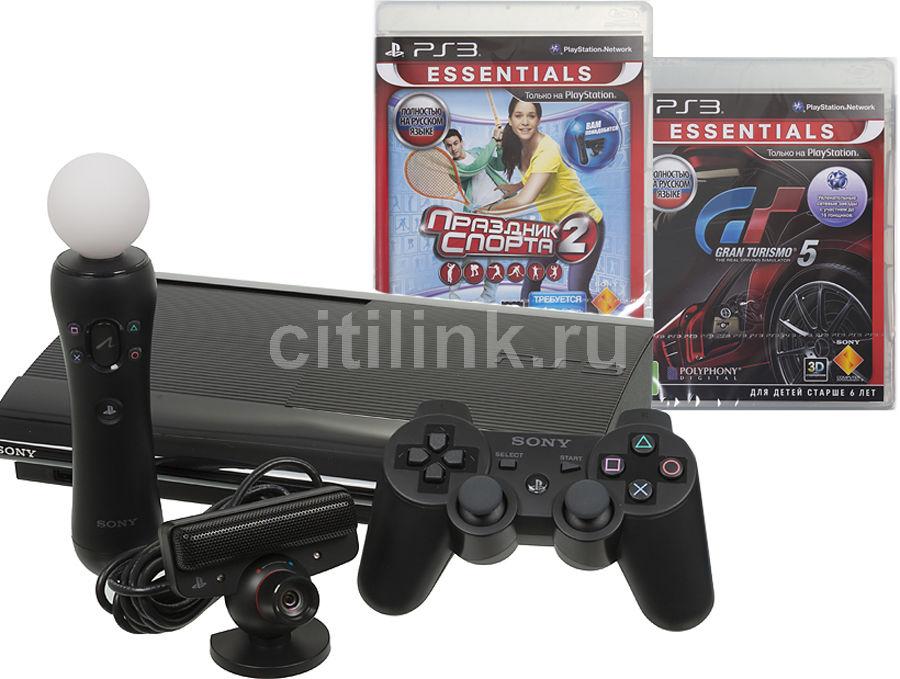 Игровая консоль SONY PlayStation 3 PS719231684, черный
