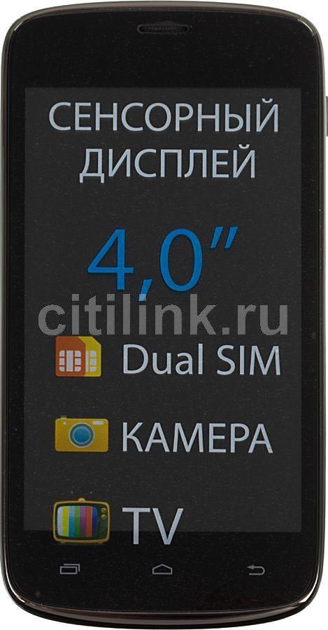 Мобильный телефон EXPLAY T400  черный