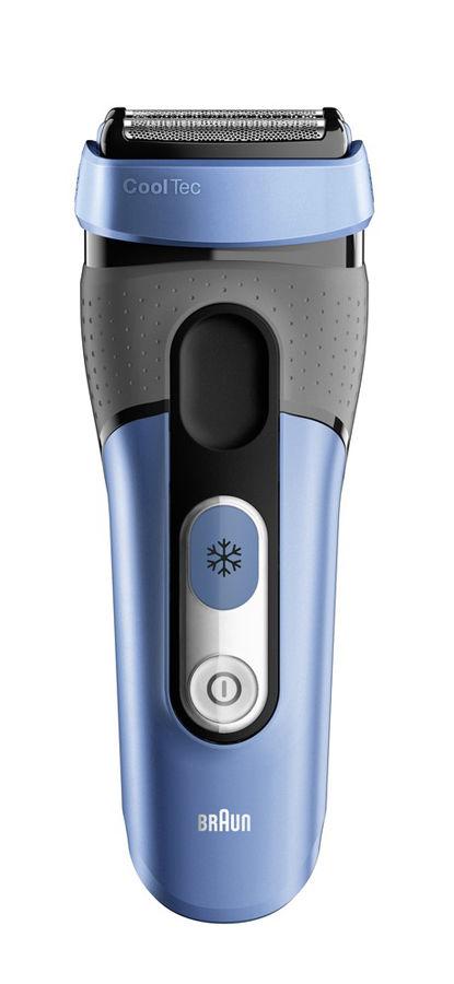 Электробритва BRAUN CT4s CoolTec,  синий