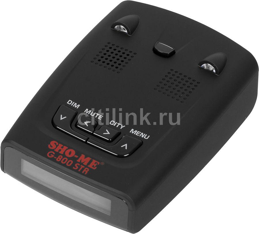 Радар-детектор SHO-ME G-800 red,  черный