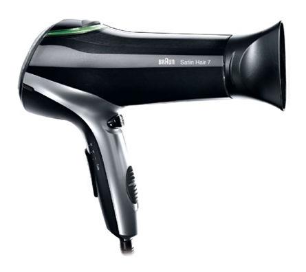 Фен BRAUN HD710 Satin Hair 7, 2200Вт, черный