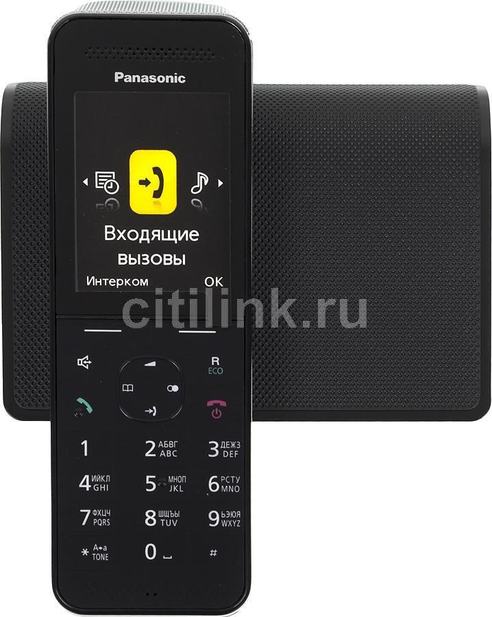 Радиотелефон PANASONIC KX-PRW120RUW,  черный