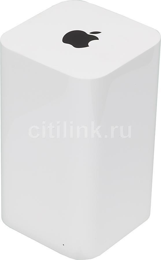Беспроводной маршрутизатор APPLE AirPort Time Capsule,  белый [me177ru/a]