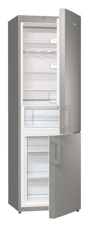 Холодильник GORENJE RK 6191 AX,  двухкамерный, нержавеющая сталь [rk6191ax]