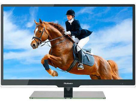 "LED телевизор ROLSEN RL-32D1307  ""R"", 32"", HD READY (720p),  черный"