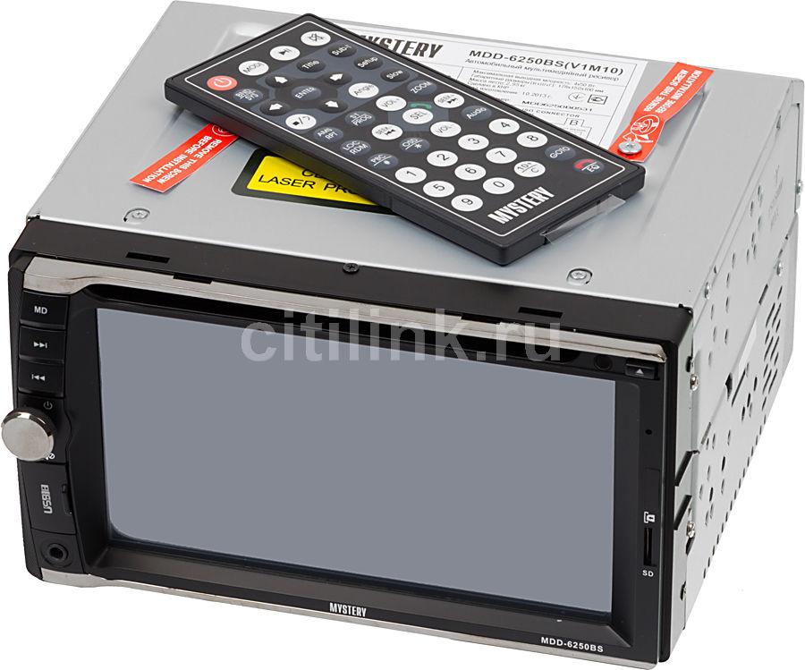 Автомагнитола MYSTERY MDD-6250BS,  USB,  microSD