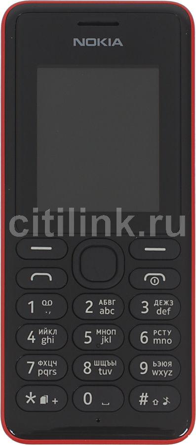 Мобильный телефон NOKIA 108 Dual Sim красный
