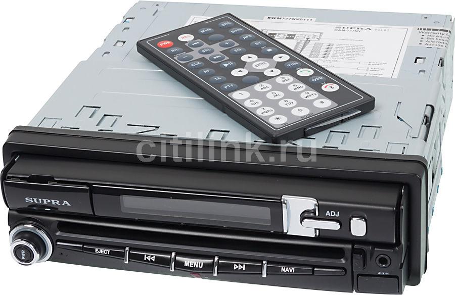 Автомагнитола SUPRA SWM-777NV,  USB,  SD/MMC