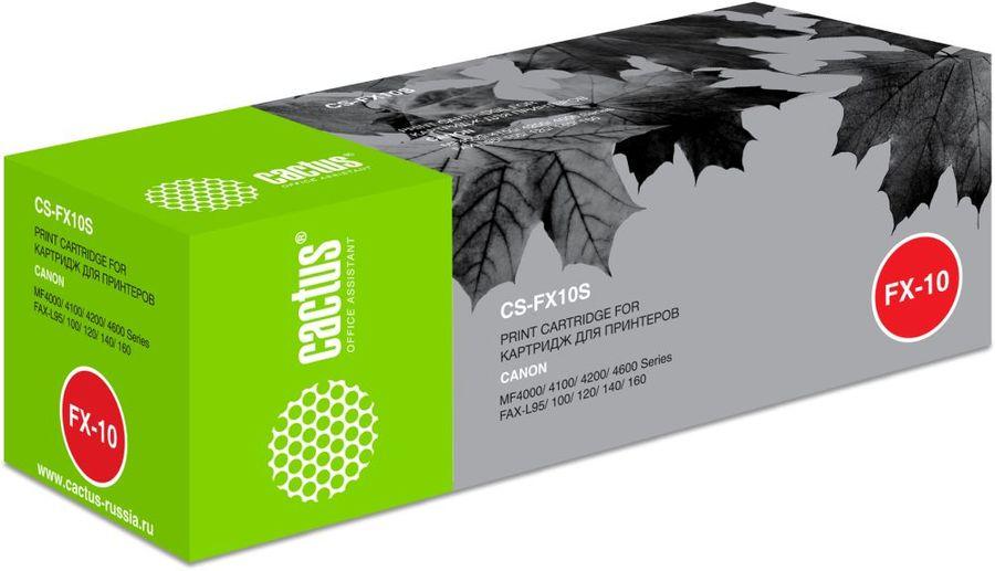 Картридж CACTUS CS-FX10S, черный
