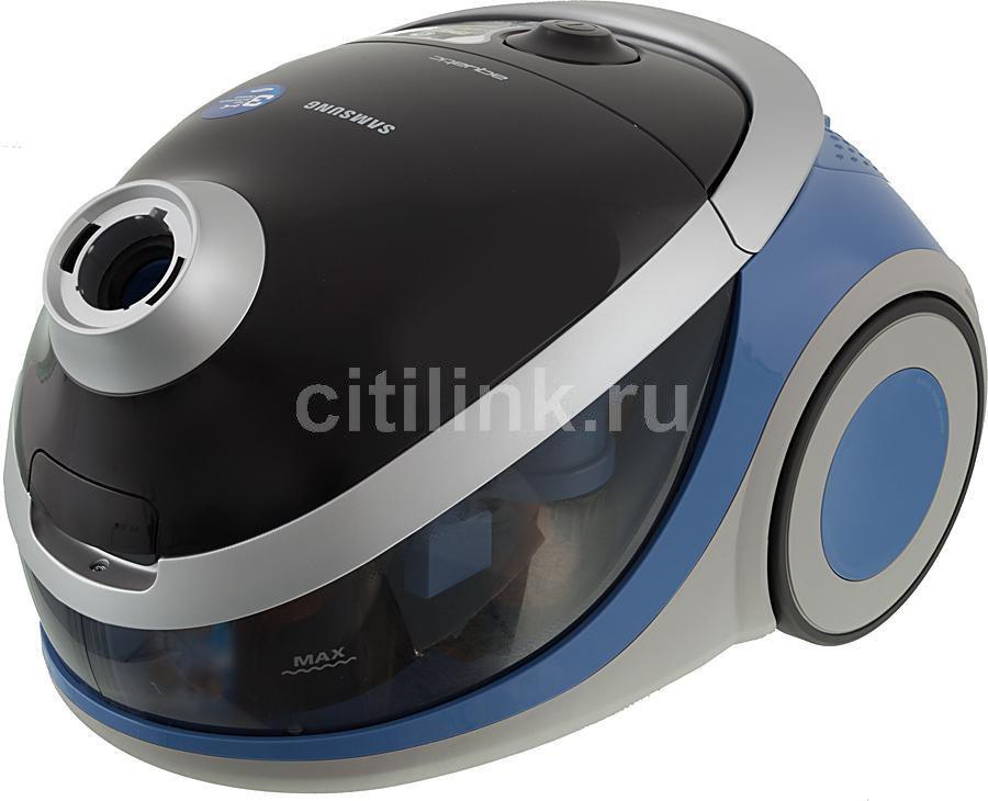 Пылесос SAMSUNG SD9421, 1600Вт, голубой/черный