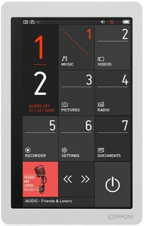 MP3 плеер COWON Iaudio X9 flash 8Гб белый