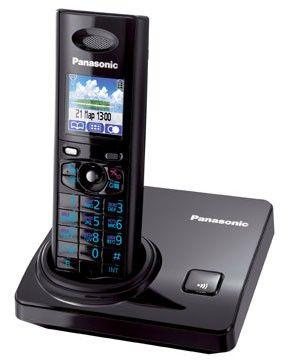 Радиотелефон PANASONIC KX-TG8205RUB,  черный
