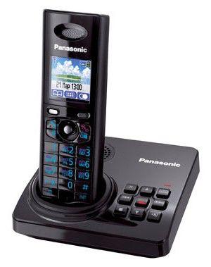 Радиотелефон PANASONIC KX-TG8225RUB,  черный