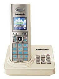 Радиотелефон PANASONIC KX-TG8225RUJ,  бежевый