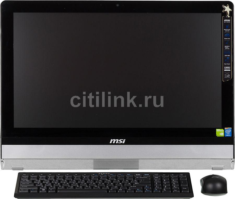 Моноблок MSI AE221G-024, Intel Core i5 4440S, 4Гб, 1000Гб, nVIDIA GeForce GT740M - 2048 Мб, DVD-RW, Windows 8.1, черный и серебристый [9s6-ac9511-024]