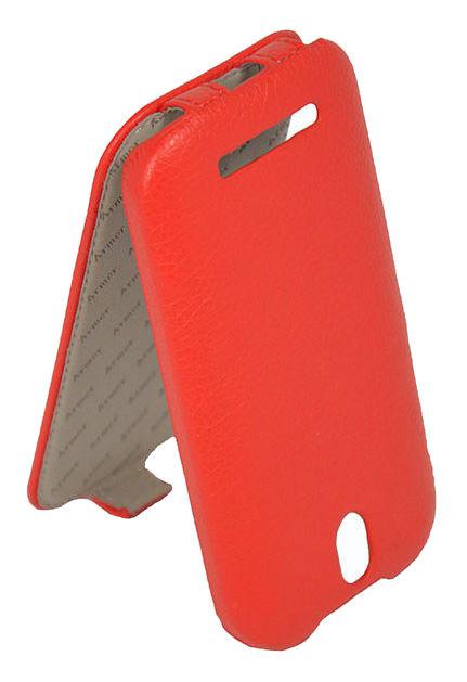 Чехол (флип-кейс) ARMOR-X Flip Full, для HTC Desire 500 Dual Sim, красный