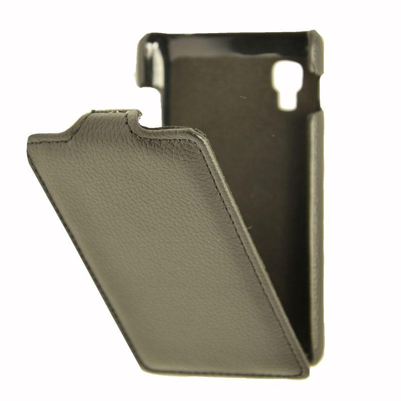 Чехол (флип-кейс) ARMOR-X flip full, для LG Optimus L4 II Dual, черный