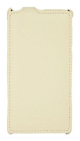 Чехол (флип-кейс) ARMOR-X flip full, для Sony Xperia L, белый