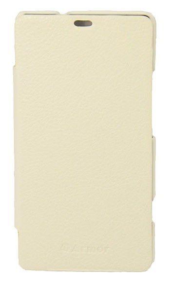 Чехол Armor-X для Sony Xperia SP book белый