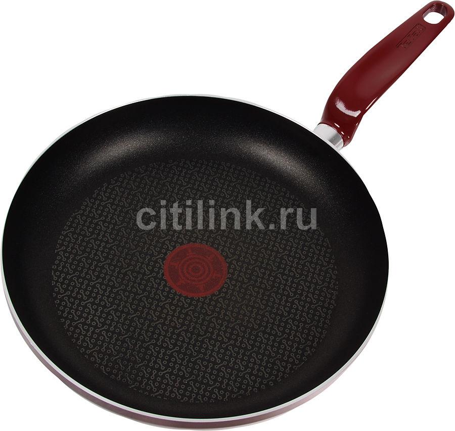 Сковорода TEFAL Edim Doma A5730552, 260см, без крышки,  красный