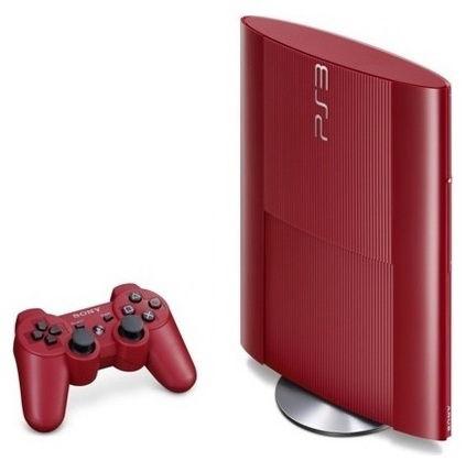 Игровая консоль SONY PlayStation 3 PS719205975, красный