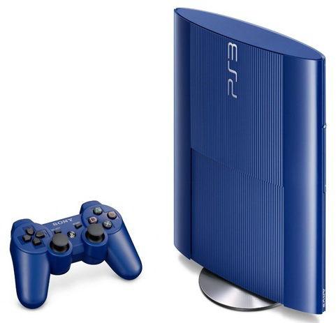 Игровая консоль SONY PlayStation 3 PS719205173, синий