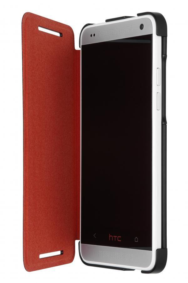 Чехол (флип-кейс) HTC HC V851, для HTC One mini, черный