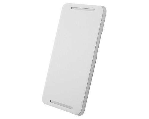 Чехол (флип-кейс) HTC HC V844, для HTC One Dual SIM, белый [hc v844 бел.]