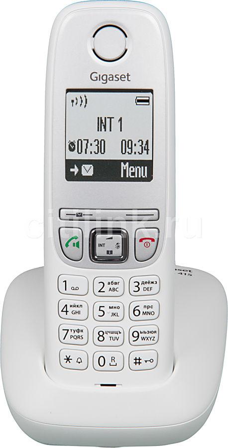 Радиотелефон GIGASET A415,  белый [a415 white]